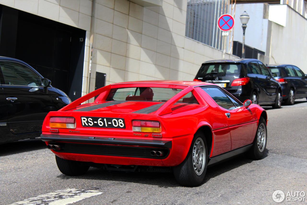 Maserati Merak SS 4