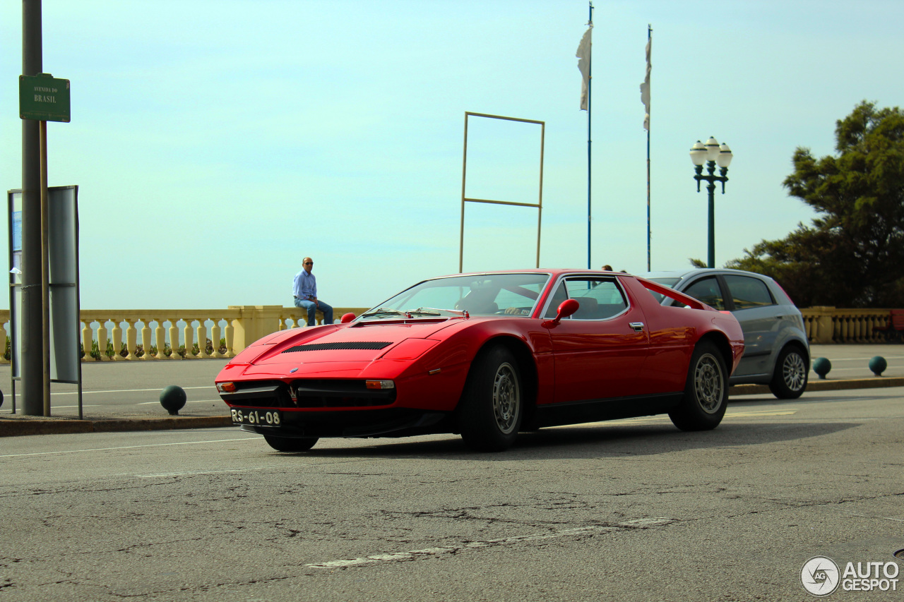 Maserati Merak SS 9