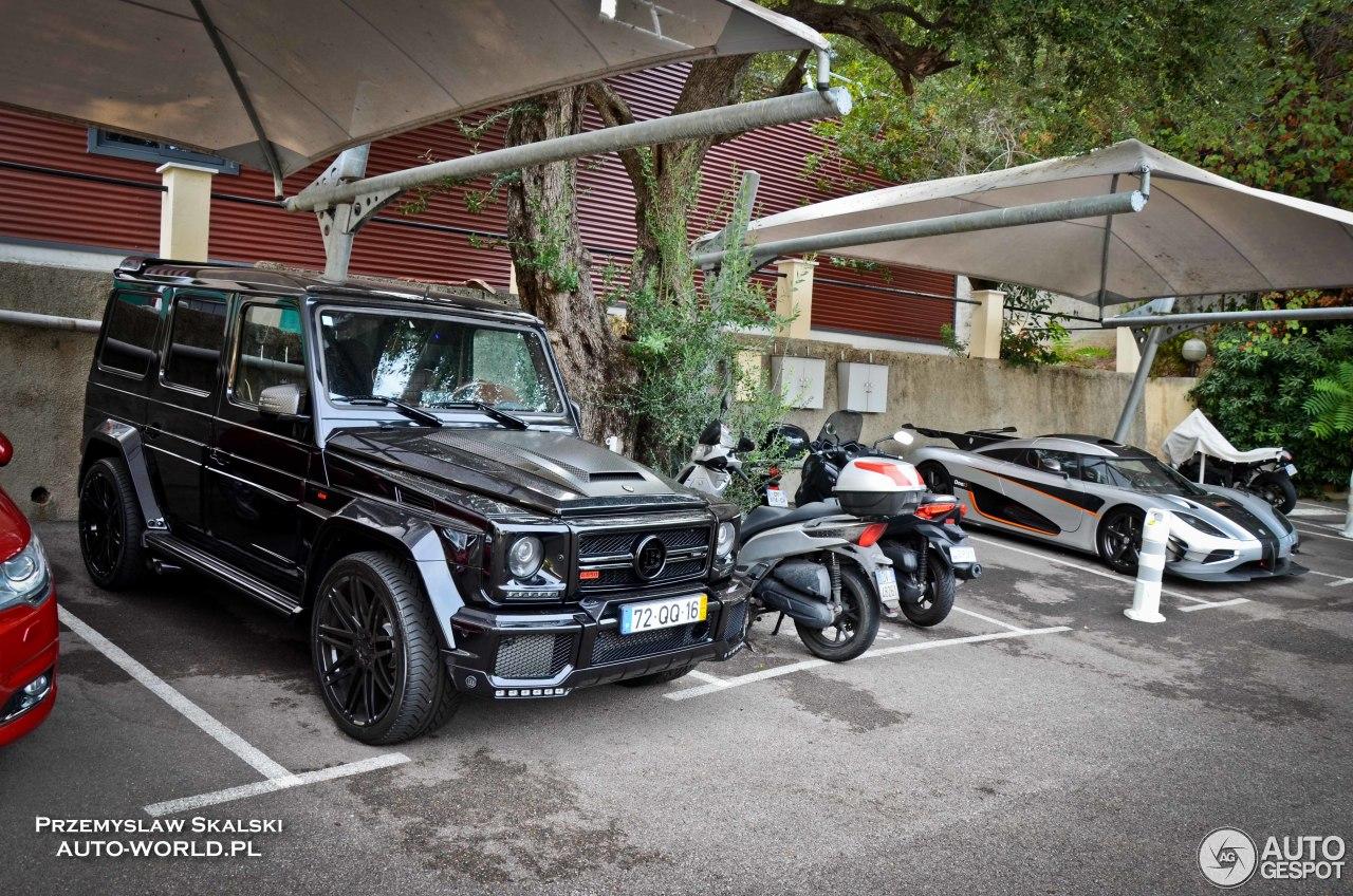 Mercedes-Benz Brabus G 850 6.0 Biturbo Widestar 1