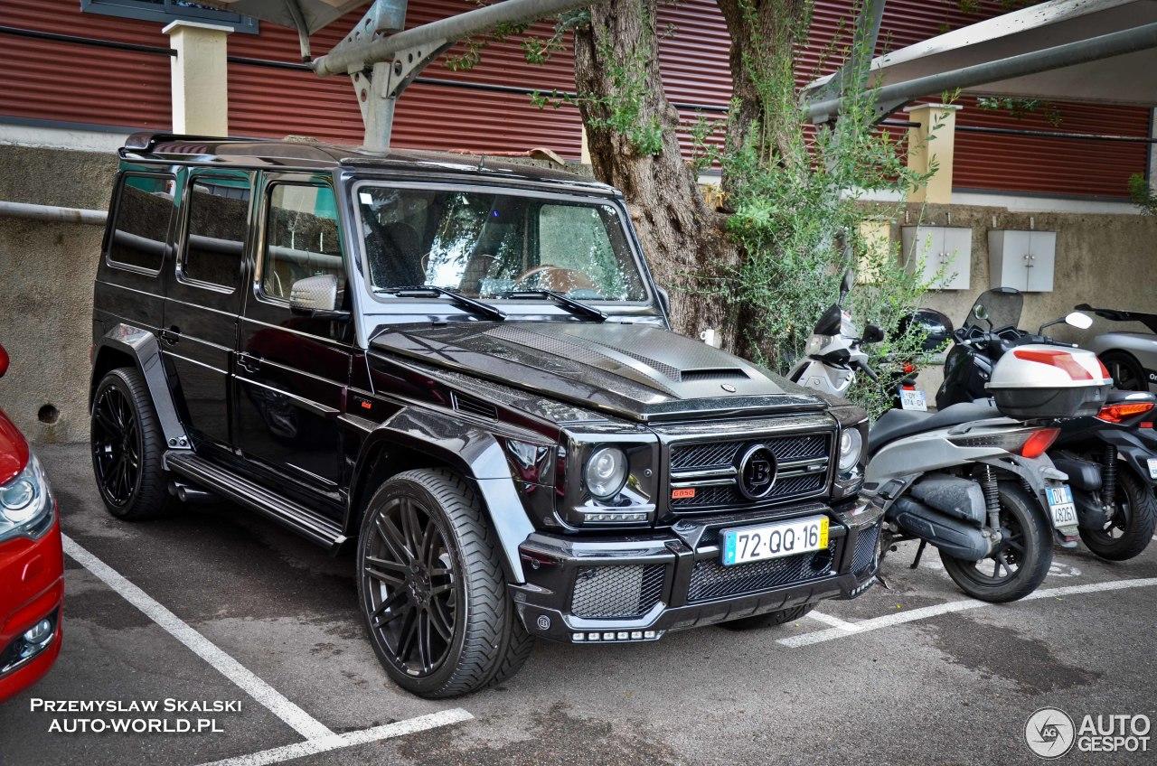 Mercedes-Benz Brabus G 850 6.0 Biturbo Widestar 6