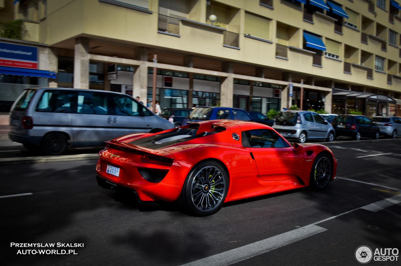 Porsche 918 Spyder 6