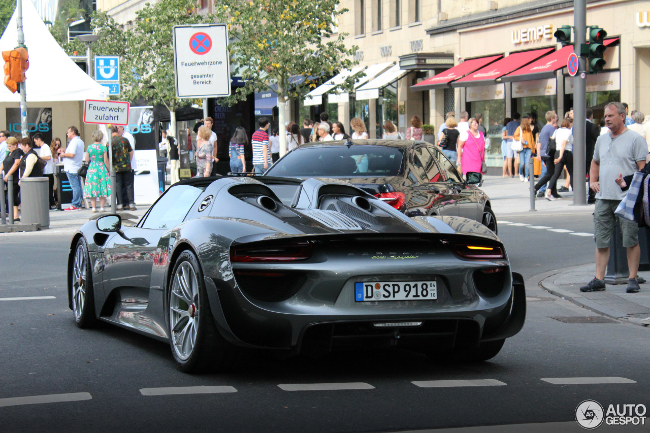 Porsche 918 Spyder Weissach Package 7