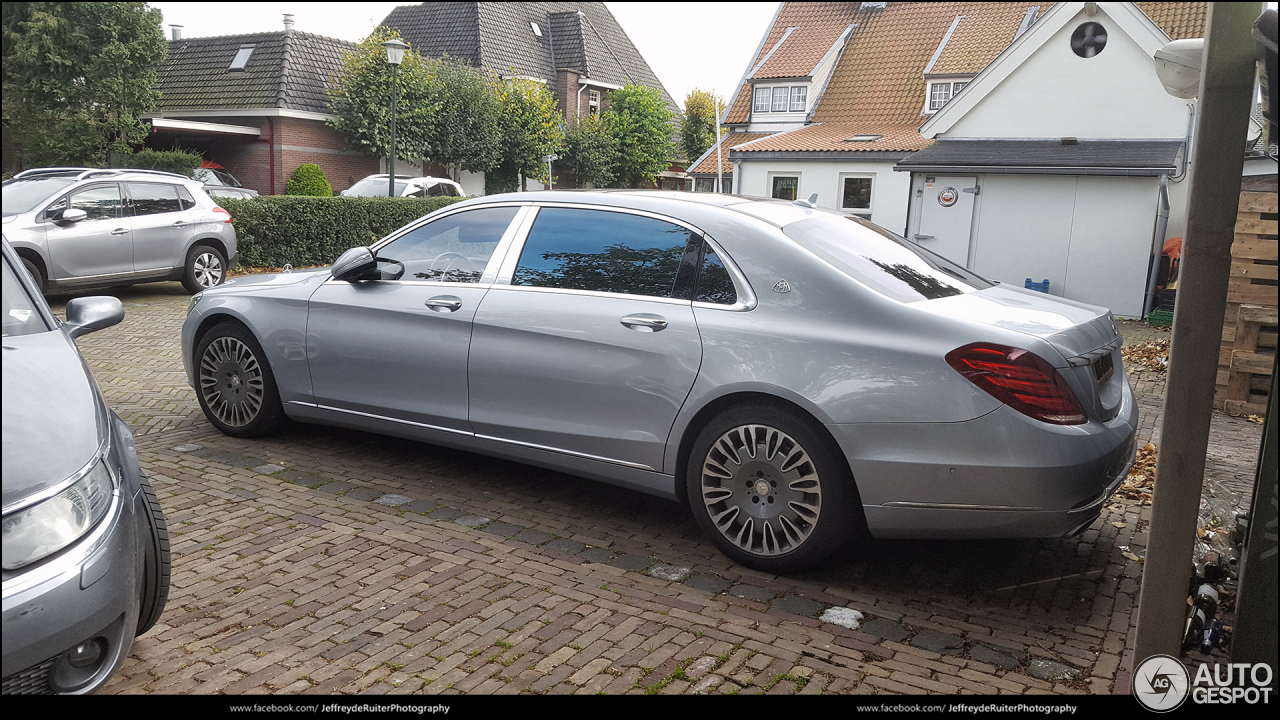 Mercedes maybach s600 12 october 2017 autogespot for 2017 mercedes benz s600 maybach
