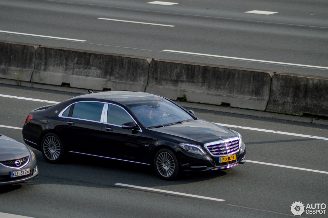 Mercedes maybach s600 13 october 2017 autogespot for 2017 mercedes benz s600