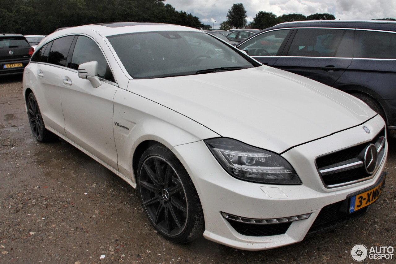 mercedes benz cls 63 amg x218 shooting brake 14 october 2017 autogespot. Black Bedroom Furniture Sets. Home Design Ideas