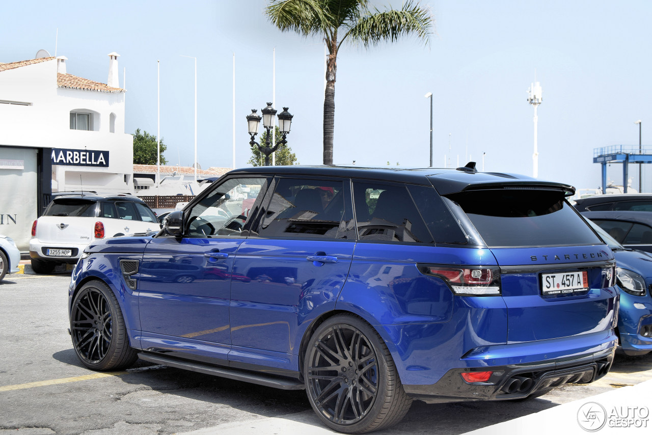 land rover startech range rover sport svr 15 october 2017 autogespot. Black Bedroom Furniture Sets. Home Design Ideas