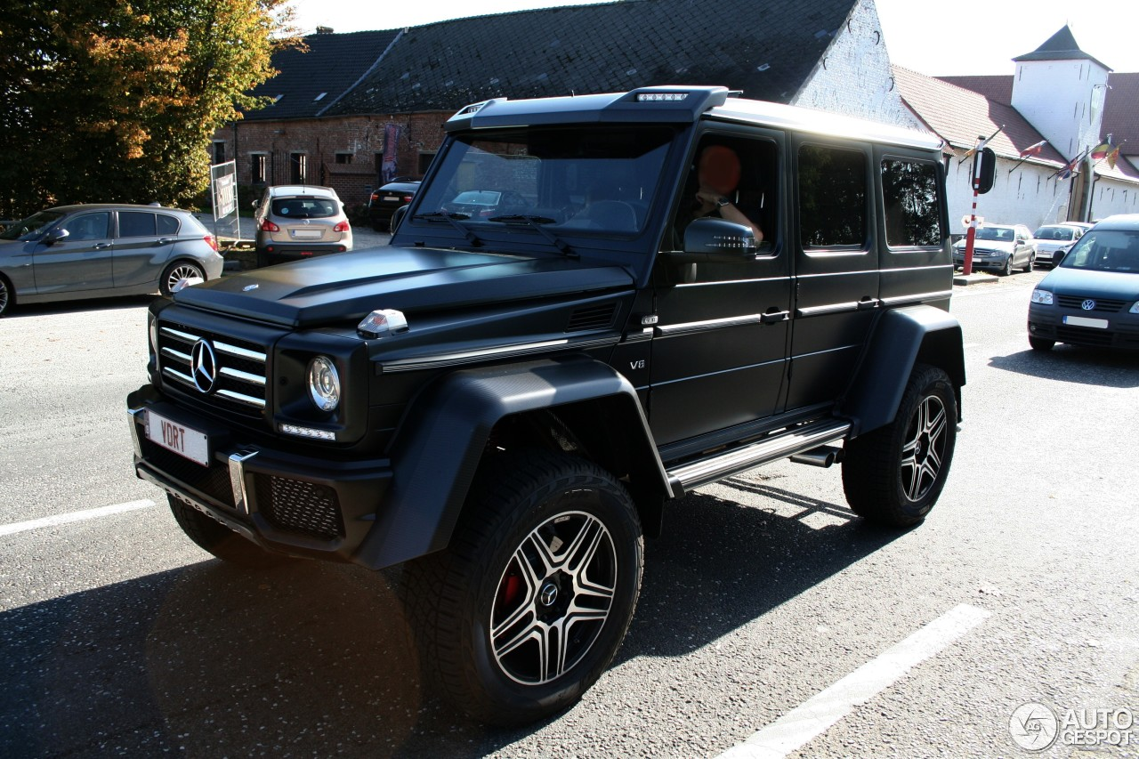 Mercedes benz g 500 4x4 15 october 2017 autogespot for Mercedes benz 500 2017