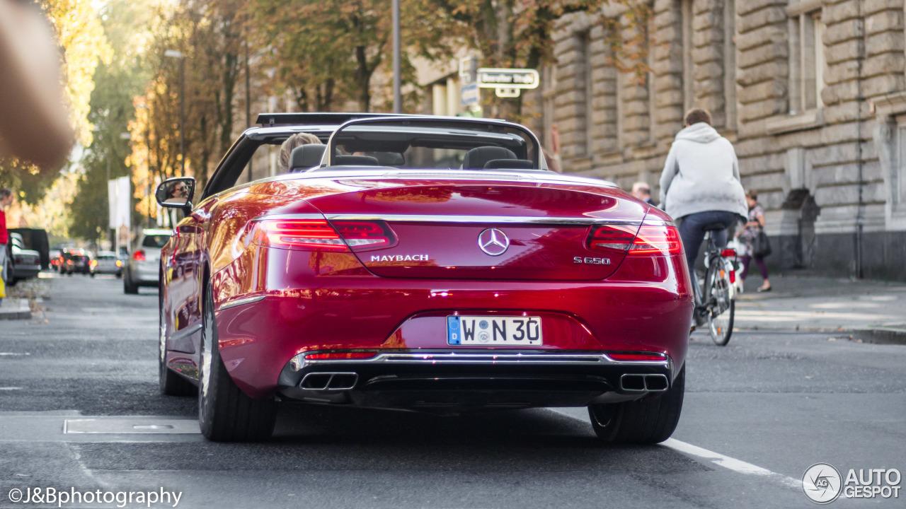 Mercedes maybach s650 cabriolet 15 october 2017 autogespot for Mercedes benz maybach cabriolet