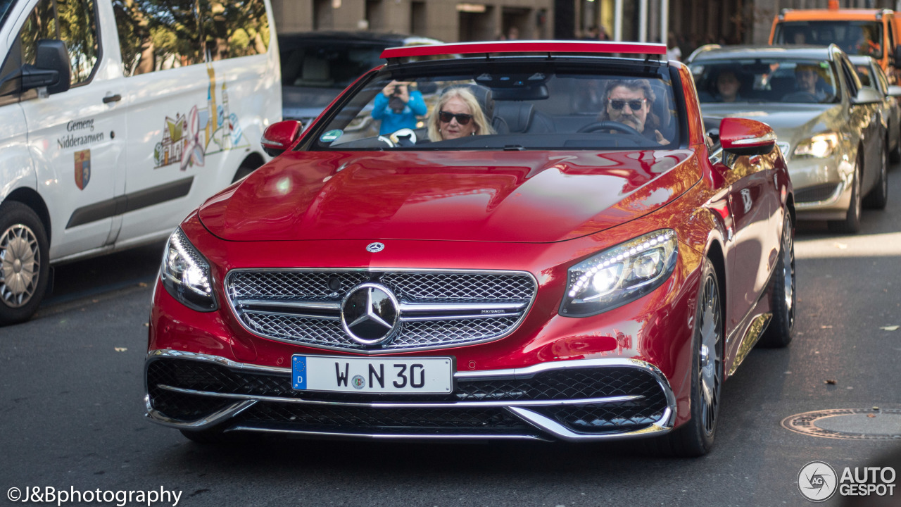 Mercedes maybach s650 cabriolet 15 october 2017 autogespot for Mercedes benz s650