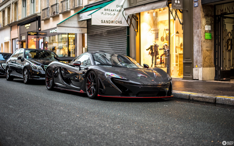 McLaren P1 XP Carbon Series