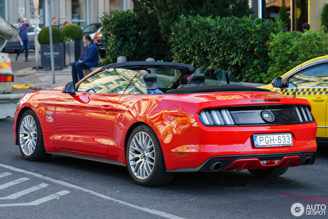 Ford Mustang GT Convertible 2015 - 16 October 2017 ...