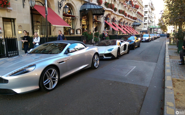 Aston Martin Virage Volante October Autogespot - Aston martin virage