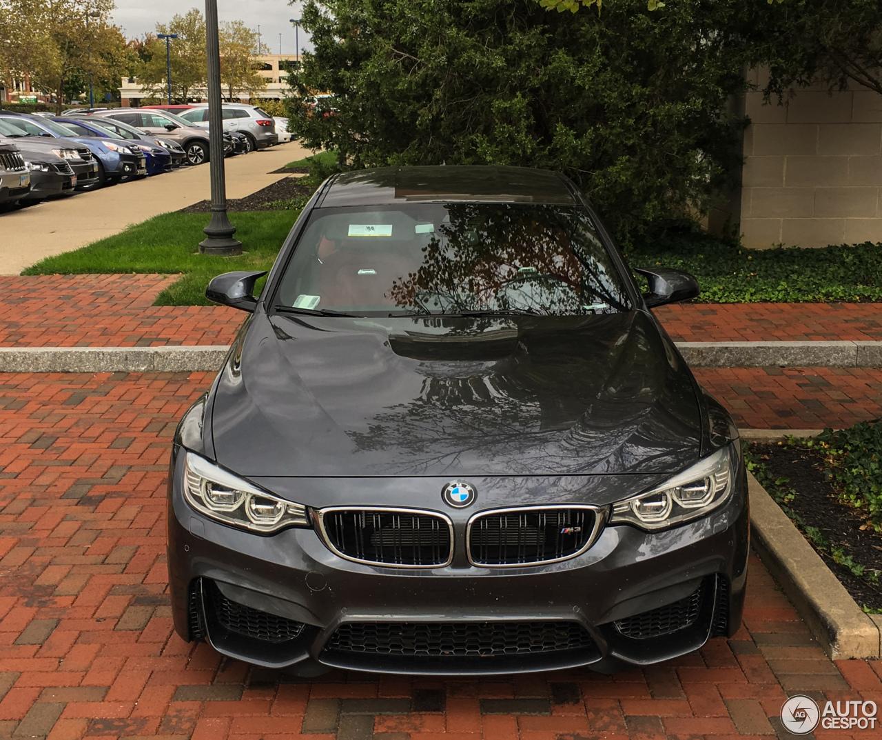 2017 Bmw M3: BMW M3 F80 Sedan 2014
