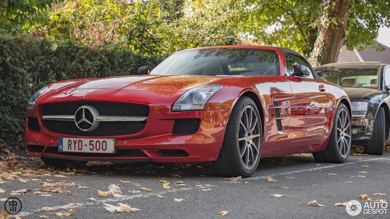 Mercedes Benz Sls Amg Roadster 18 October 2017 Autogespot