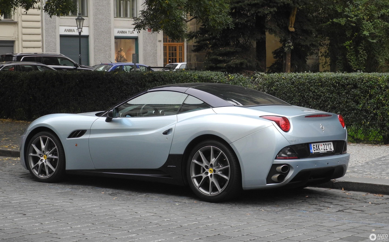 Ferrari California Bi-Colore Special Edition - 18 October ...