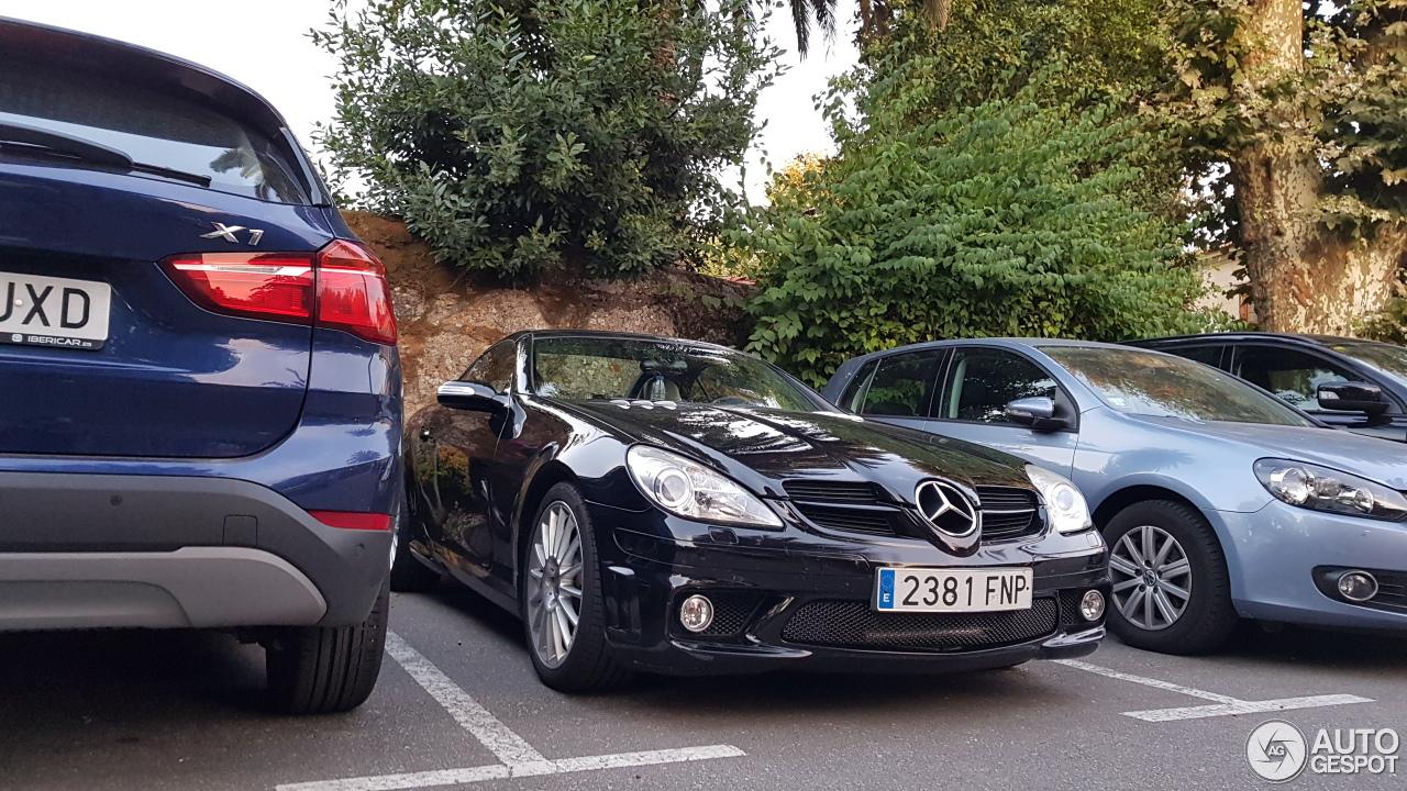 Mercedes benz slk 55 amg r171 19 oktober 2017 autogespot for Mercedes benz slk amg 2017