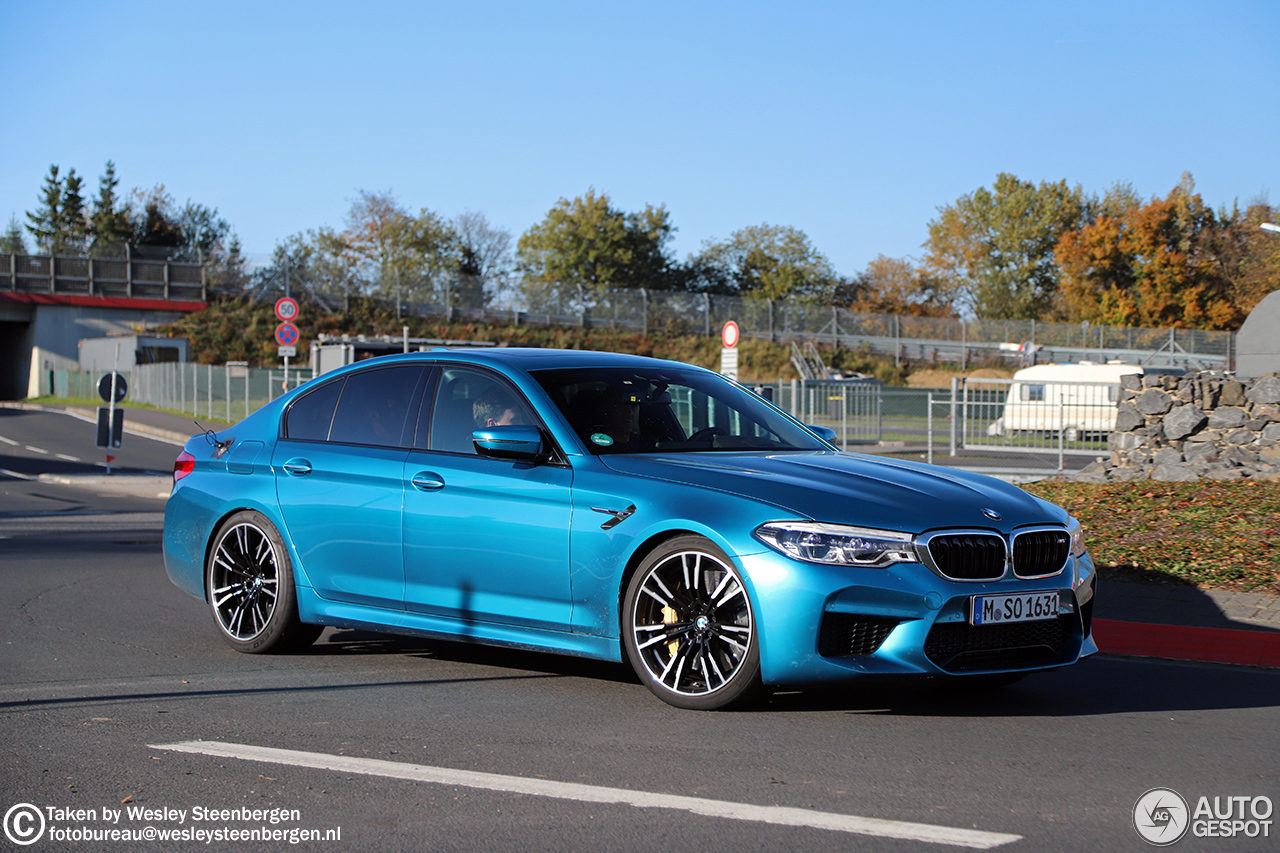 BMW M5 F90 - 20 October 2017 - Autogespot