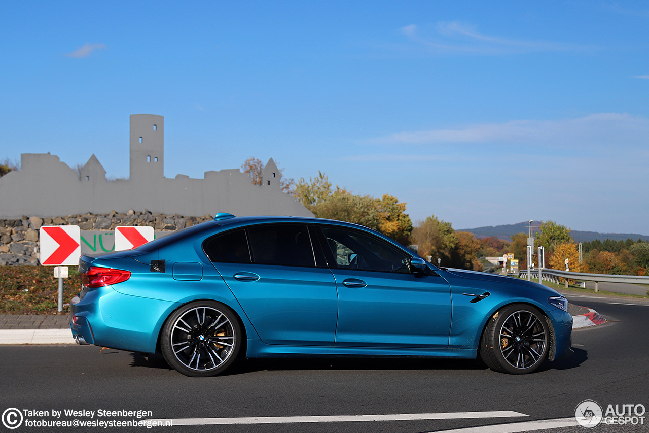 Bmw M5 F90 20 October 2017 Autogespot