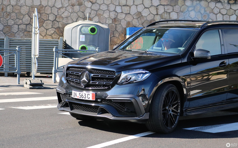 Mercedes Amg Brabus Gls 850 6 0 Biturbo 20 October 2017 Autogespot