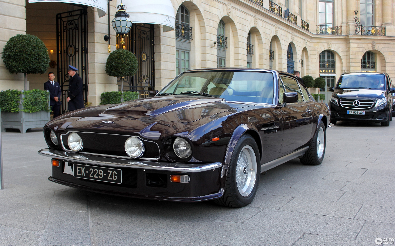 Crop Aston Martin V Vantage C
