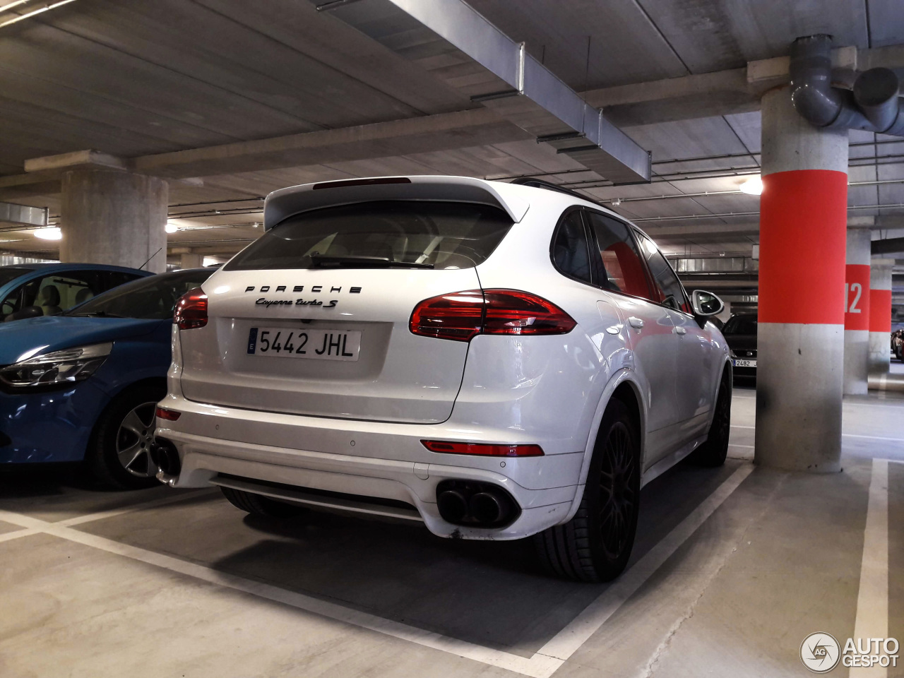 porsche 958 cayenne turbo s mkii 22 october 2017 autogespot. Black Bedroom Furniture Sets. Home Design Ideas