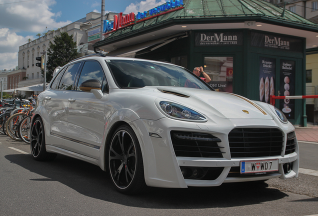 Porsche Cayenne Techart Magnum 2013 Gold Edition