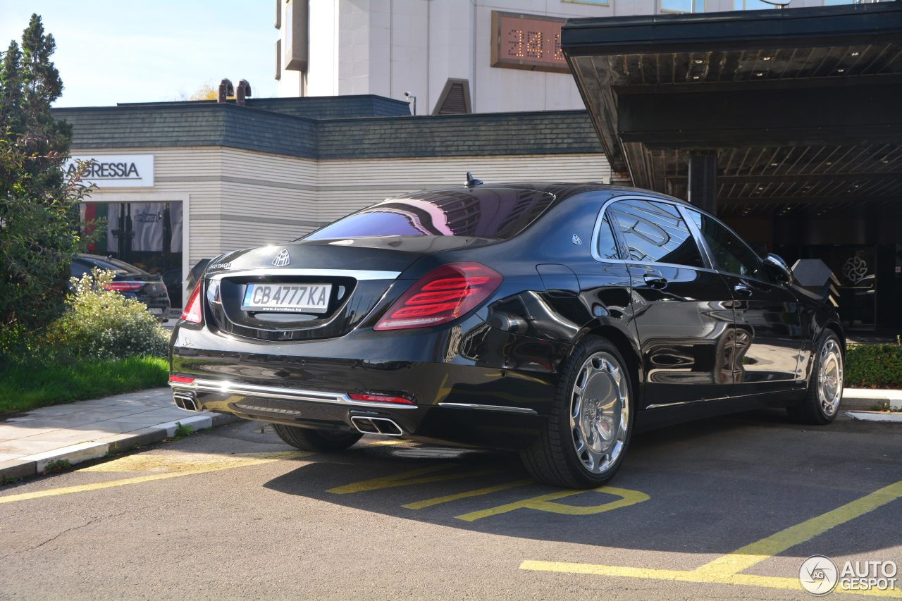 Mercedes maybach s600 23 october 2017 autogespot for 2017 mercedes benz s600 maybach