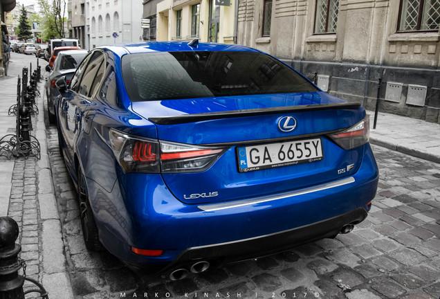 Lexus GS-F 2016