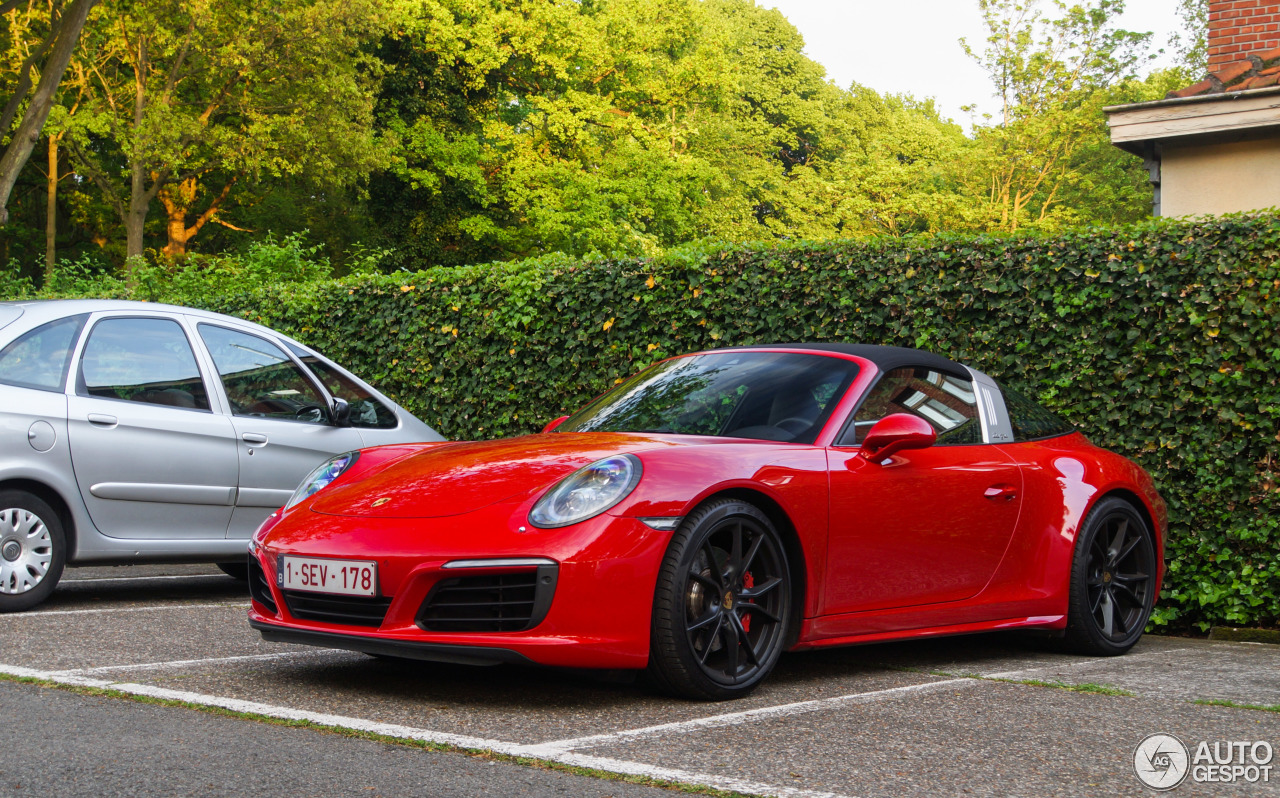 porsche 991 targa 4s mkii 24 october 2017 autogespot. Black Bedroom Furniture Sets. Home Design Ideas