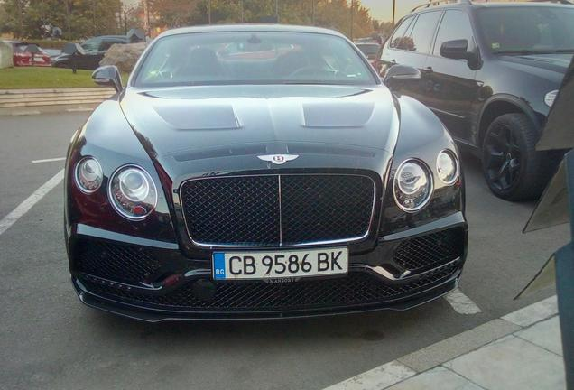 Bentley Mansory Continental GT V8 S 2016