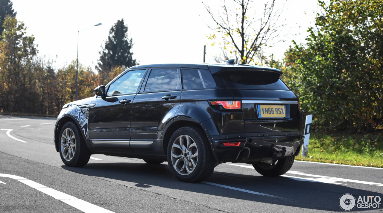 land rover range rover evoque mule 2019 25 october 2017 autogespot. Black Bedroom Furniture Sets. Home Design Ideas