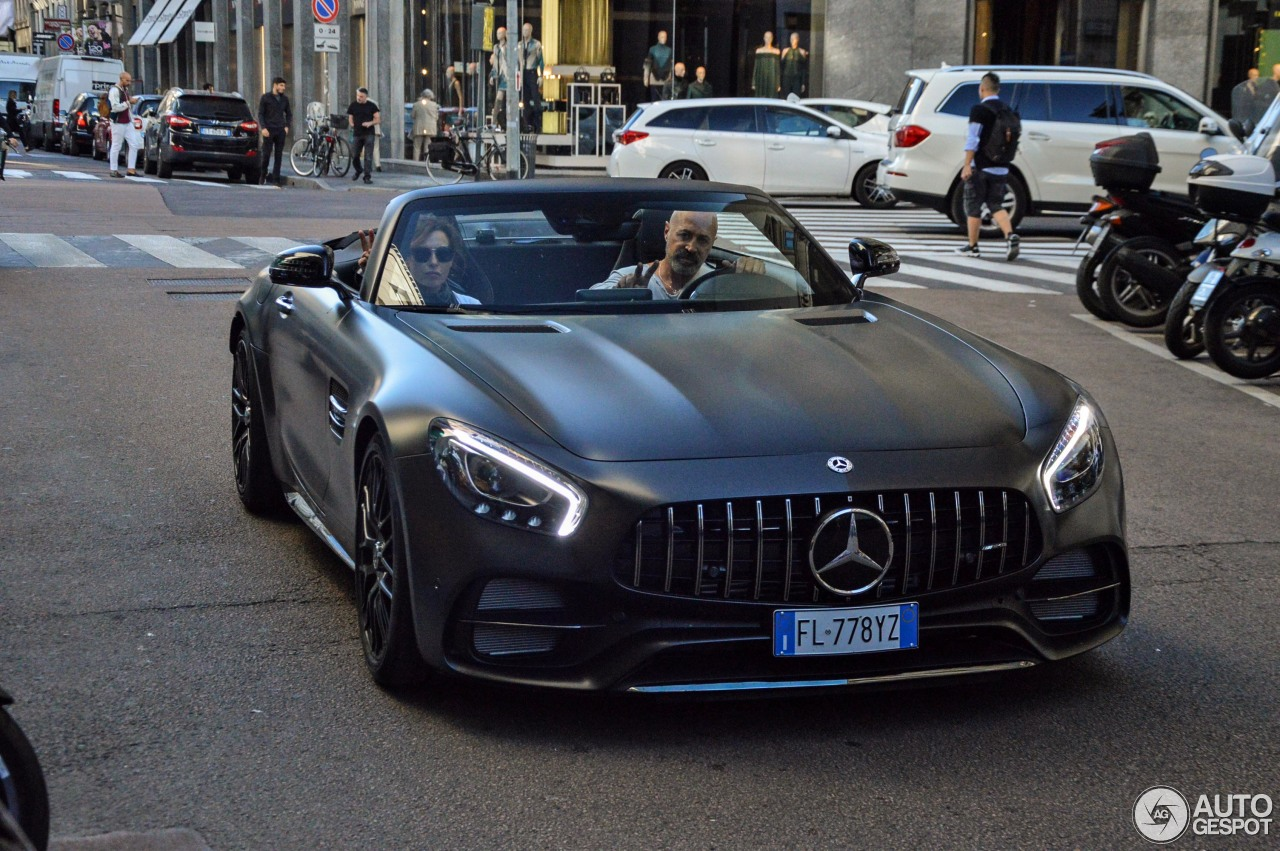 mercedes amg gt c roadster r190 edition 50 25 october. Black Bedroom Furniture Sets. Home Design Ideas
