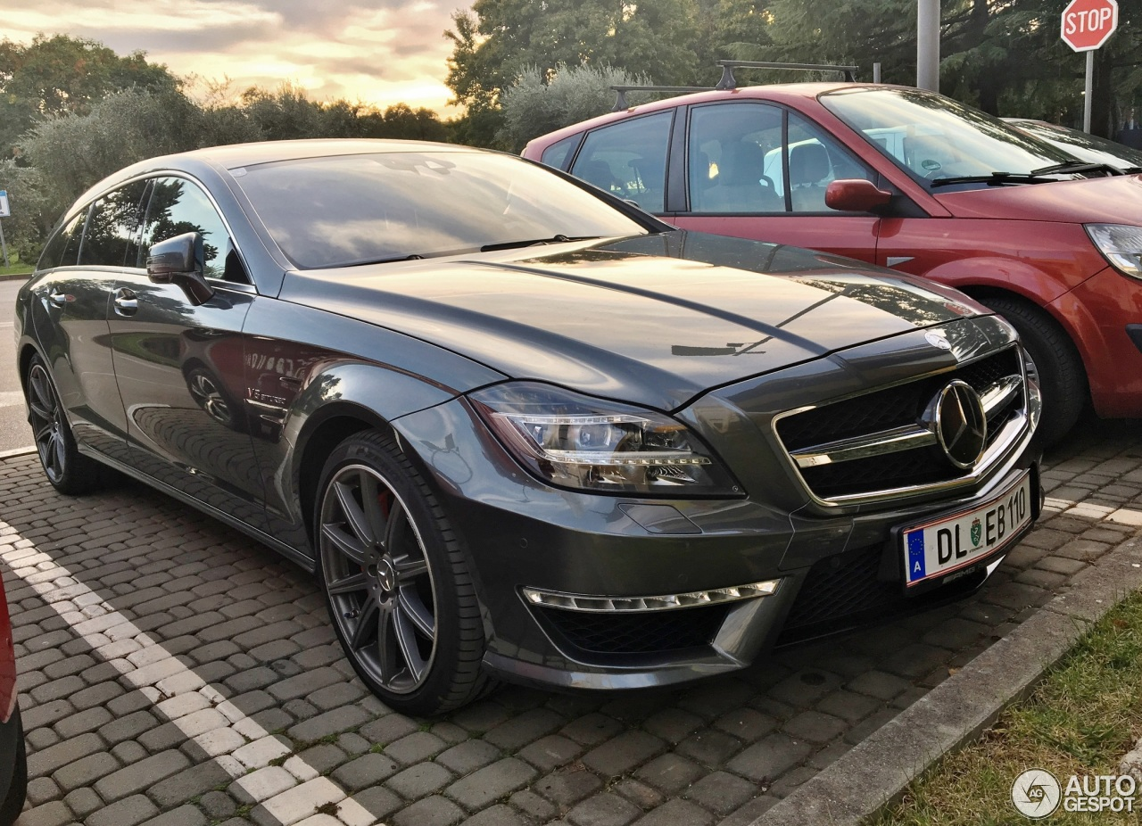 mercedes benz cls 63 amg s x218 shooting brake 25 october 2017 autogespot. Black Bedroom Furniture Sets. Home Design Ideas