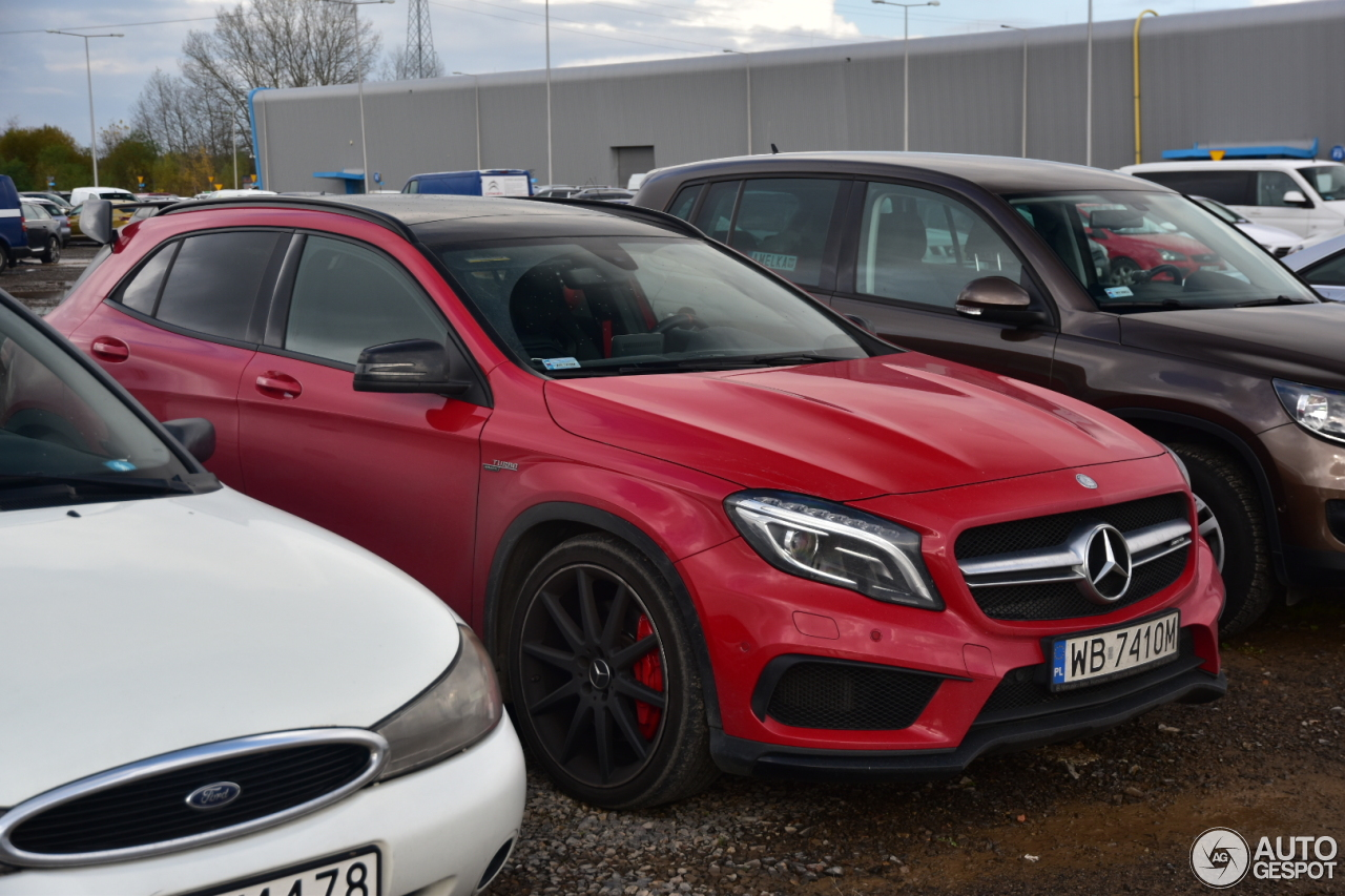mercedes amg gla 45 x156 27 october 2017 autogespot. Black Bedroom Furniture Sets. Home Design Ideas