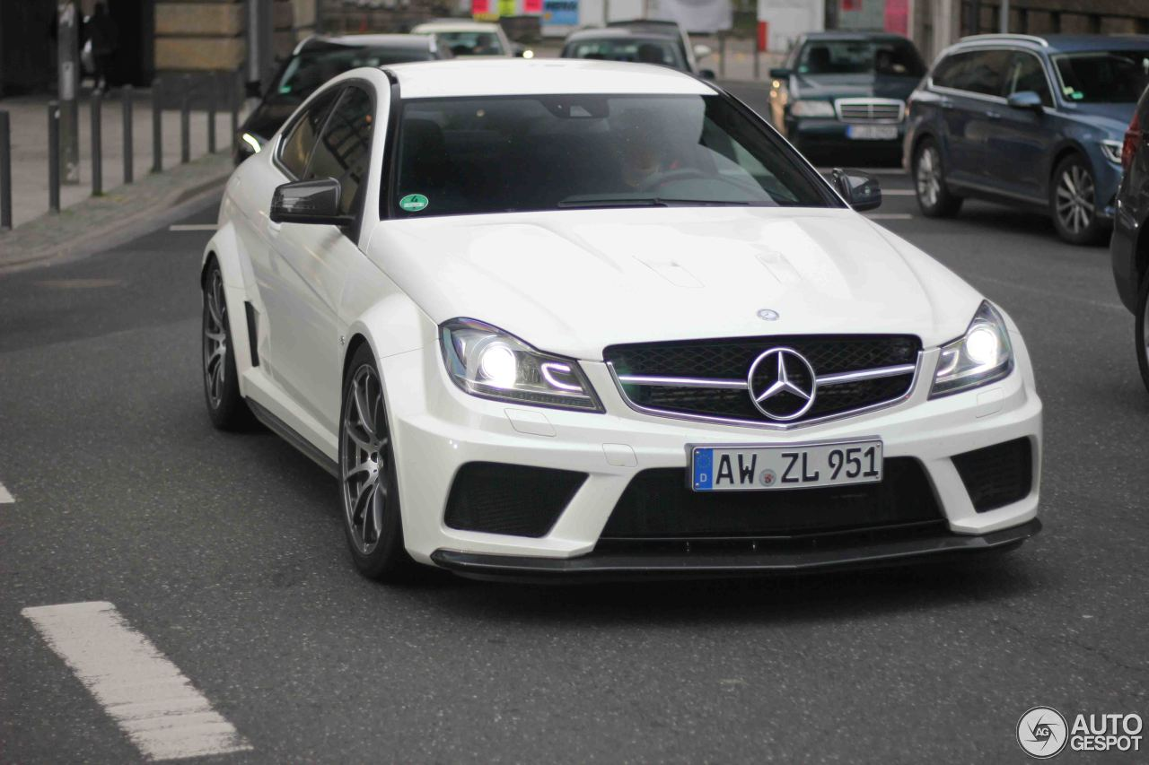 Mercedes Benz C 63 Amg Coup Black Series 28 October