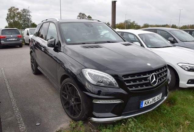 Mercedes-Benz ML 63 AMG W166