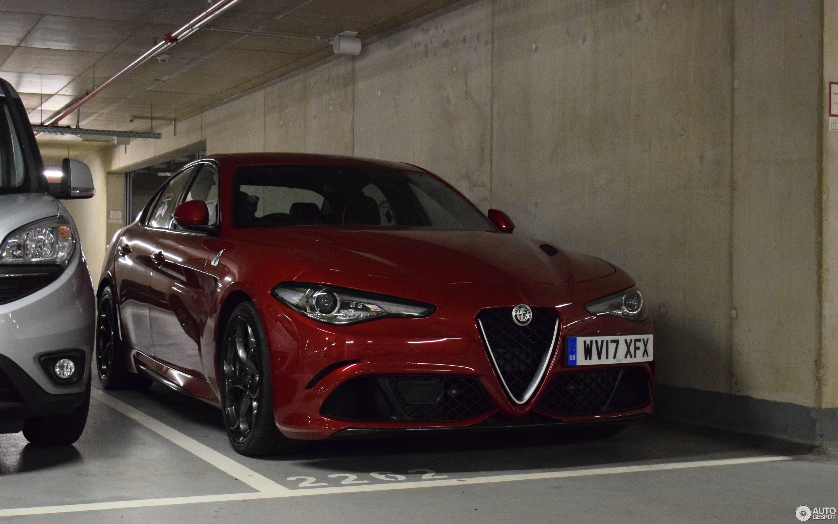 alfa romeo giulia quadrifoglio 29 october 2017 autogespot. Black Bedroom Furniture Sets. Home Design Ideas