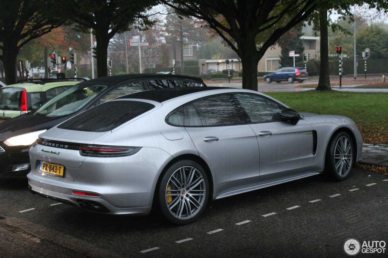 porsche 971 panamera turbo s e hybrid 31 oktober 2017 autogespot. Black Bedroom Furniture Sets. Home Design Ideas