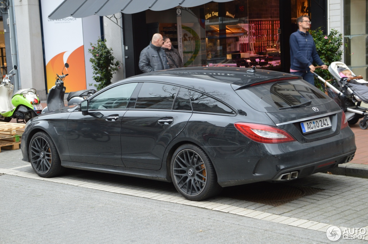 mercedes amg cls 63 s x218 shooting brake 2016 2 november 2017 autogespot. Black Bedroom Furniture Sets. Home Design Ideas