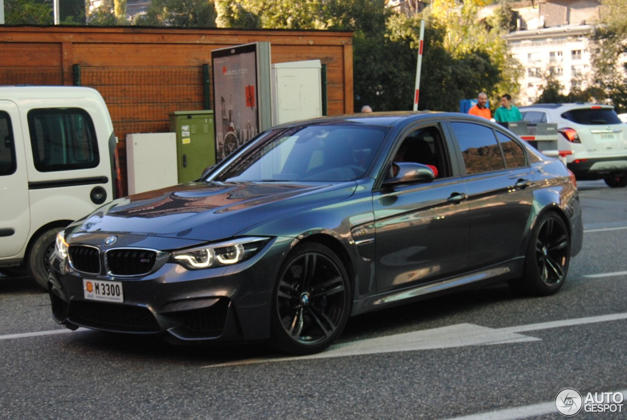 bmw m3 f80 sedan 2017 3 november 2017 autogespot. Black Bedroom Furniture Sets. Home Design Ideas