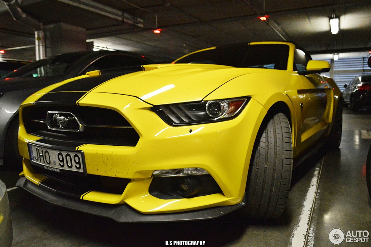 ford mustang gt 50th anniversary convertible 3 november 2017 autogespot. Black Bedroom Furniture Sets. Home Design Ideas