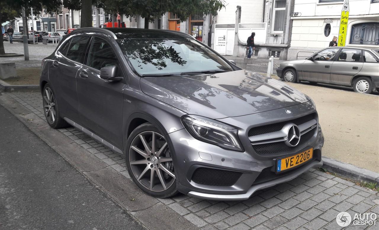 Mercedes benz gla 45 amg x156 3 november 2017 autogespot for 2017 mercedes benz amg gla 45