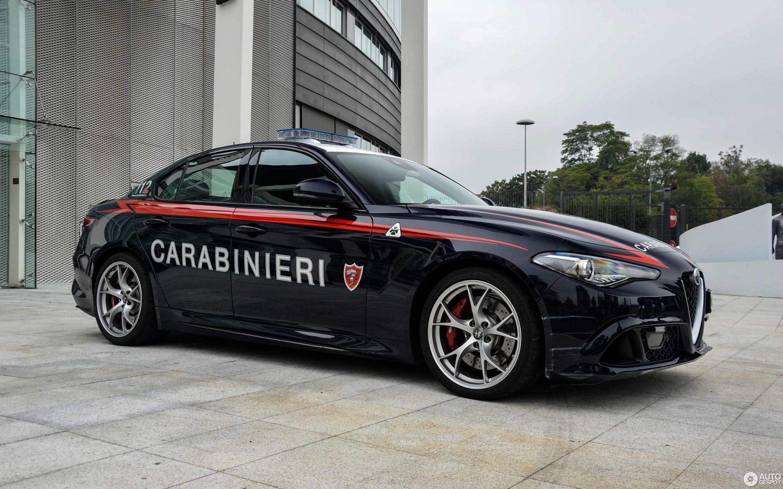 Alfa Romeo Giulia Quadrifoglio 3 новембар 2017 Autogespot