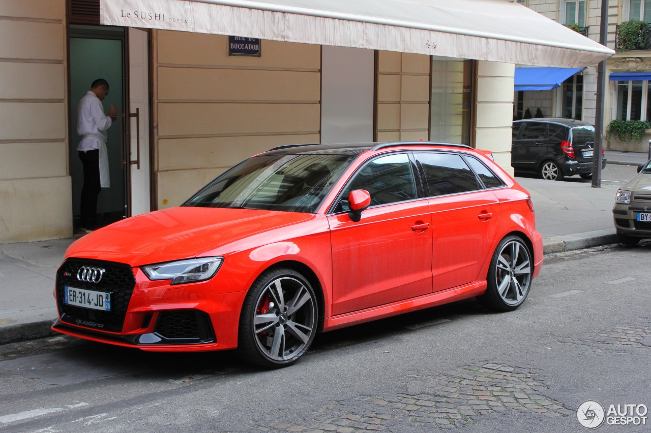 audi rs3 sportback 8v 2018 4 november 2017 autogespot. Black Bedroom Furniture Sets. Home Design Ideas