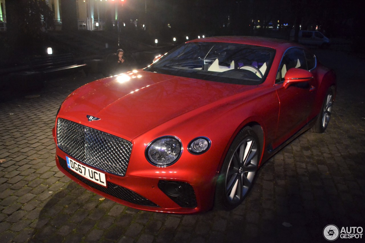 2017 Bentley Continental Gt Convertible >> Bentley Continental GT 2018 - 4 November 2017 - Autogespot