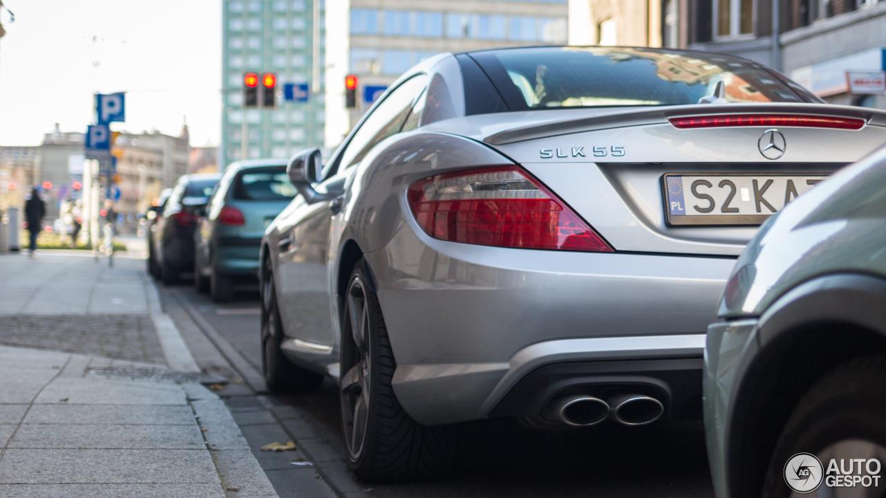 Mercedes benz slk 55 amg r172 4 november 2017 autogespot for 2017 mercedes benz slk 250