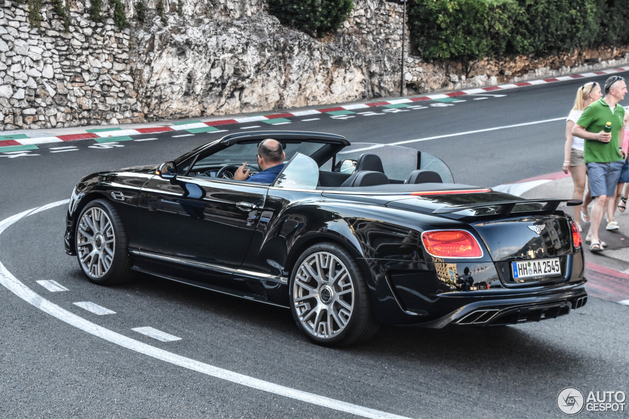 Bentley Continental GTC Mansory 2015 - 5 November 2017 ...