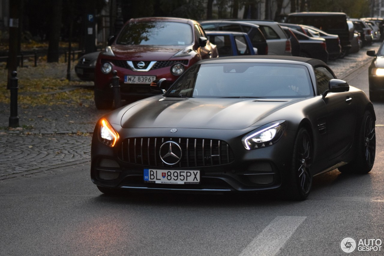 mercedes amg gt c roadster r190 edition 50 5 november. Black Bedroom Furniture Sets. Home Design Ideas