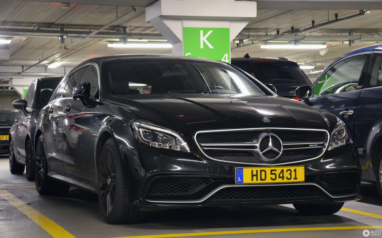 Mercedes-Benz CLS 63 AMG S X218 Shooting Brake 2015