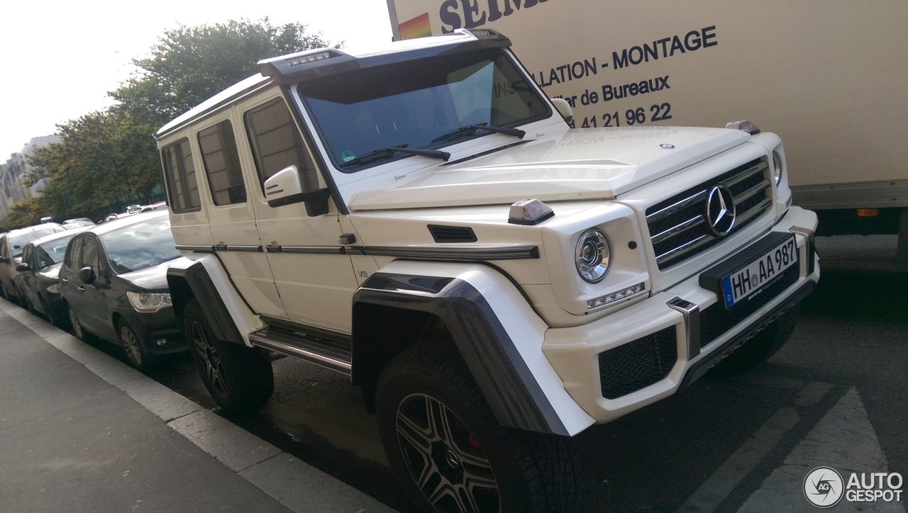 Mercedes benz g 500 4x4 7 november 2017 autogespot for Mercedes benz 500 2017